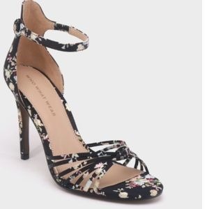 Women's floral Party Stiletto Pump Heels-9